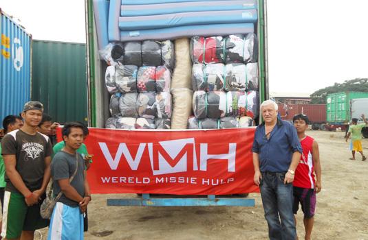 container aangekomen WMH 535