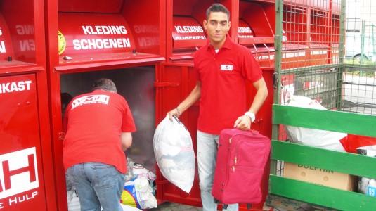 container leegmaken wmh-medewerkers