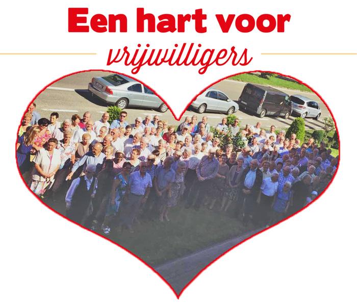 een hart voor vrijwilligers