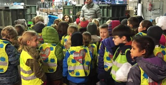 rondleiding wmh groep kinderen