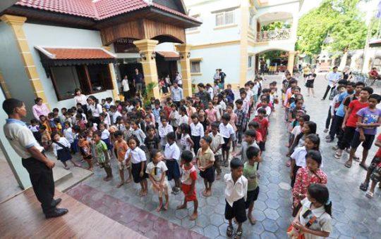 leerlingen school