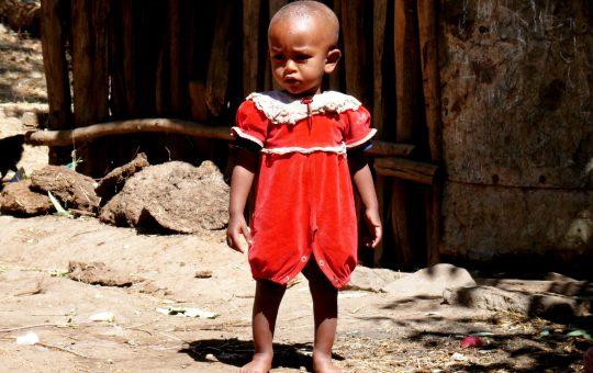 meisje weeskind project Ehtiopie