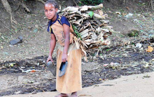 takken sjouwen project Ethiopie