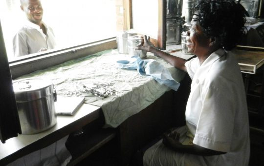 verpleegster rdc project echograaf