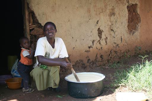 vrouw en kind kenia