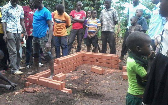 bakstenen maken project Egoli Africa