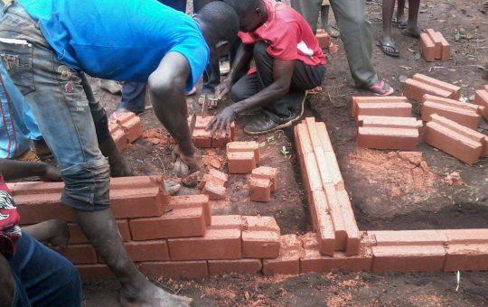 bouwen met bakstenen Egoli Africa