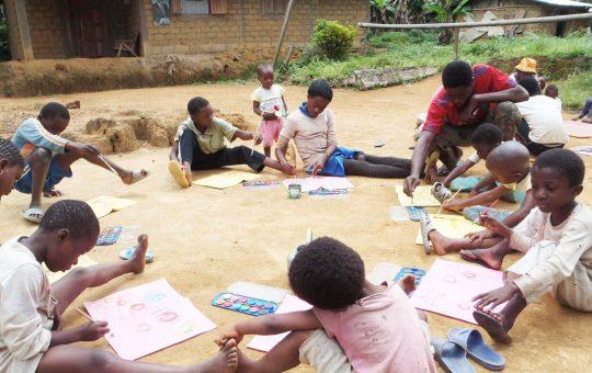 leerlingen irie school project