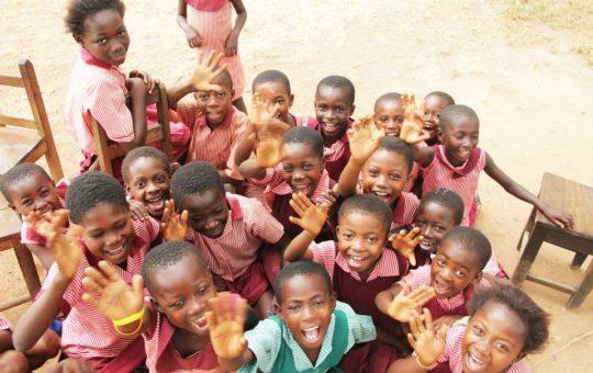 leerlingen school ghana