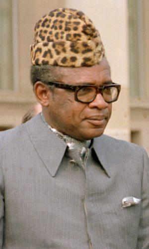 Dictator Mobutu Sese Seko